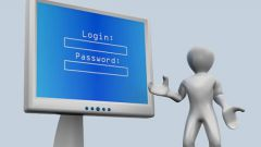 How to write username and password