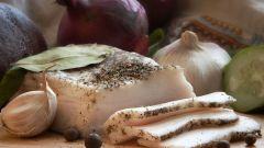 Все о сале: как посолить