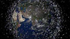 Как выглядит Земля и спутники