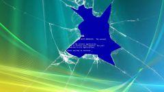 Как убрать синий экран Windows XP
