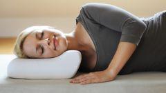 Выбор ортопедической подушки