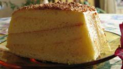 """Как приготовить торт """"Ананасовое полено"""""""