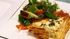 Вегетарианская лазанья