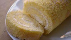 Как испечь бисквит для рулета по ГОСТу