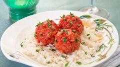 Как приготовить мясные шарики с фасолью и луком