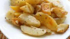 Запекаем картошку с шалфеем и лимоном