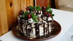 Торт с маскарпоне и меренгами