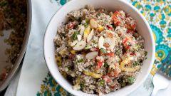Как приготовить цветную капусту с жареным рисом