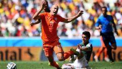 1/8 финала ЧМ 2014 по футболу: Нидерланды - Мексика