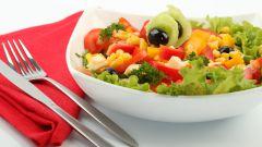 Пикантный рыбный салат