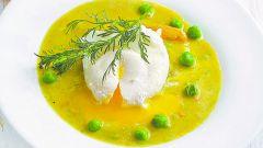 Щавелевый суп с яйцом-пашот