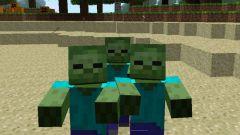 Как выглядит зомби в Майнкрафт