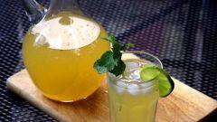 Как сделать лимонад «Дзыдзыбира»