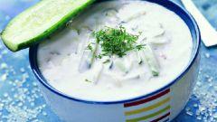Как приготовить холодник из огурцов с йогуртом