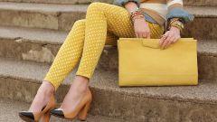 Летний сезон 2014: желтые джинсы