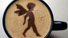 Как нанести рисунок на кофе