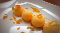 Как сделать мороженое из мандаринов