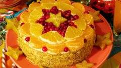 Тортик с апельсинами