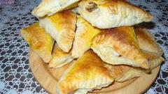 Как приготовить вкусные пирожки с мясом