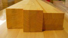 Как выбрать деревянный брус