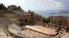 Какие части имело здание греческого театра