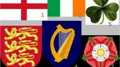 Каковы национальные эмблемы Англии и Ирландии