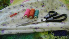 Как перенести выкройку на ткань