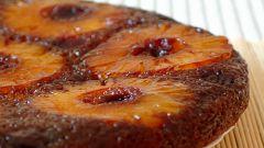 Как приготовить пирог с консервированным ананасом