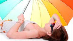 Помощь при солнечных ожогах, ударах и обмороках
