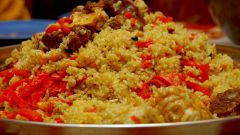 How to cook pilaf with crisp rice