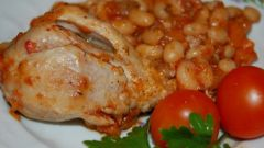 Как приготовить курицу с фасолью по-испански