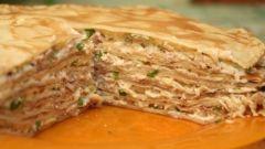 Как приготовить пирог с мясом и шпинатом