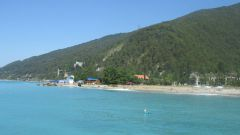 What's the first thing to look at in Abkhazia