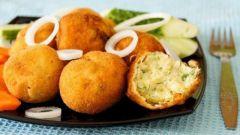Готовим крокеты картофельные