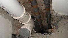 Как самому поменять стояк канализации