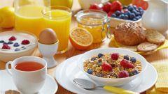 Как составить меню завтрака
