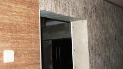 Как уменьшить ширину дверного проема