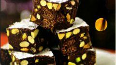 Панфорте с шоколадом