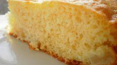 Пирог с марципаном и грушами