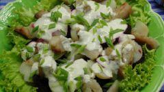 """Как приготовить салат """"Невод"""""""
