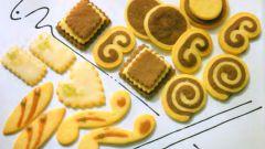 Декоративное масляное печенье