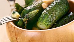 How to pickle cucumbers in the package
