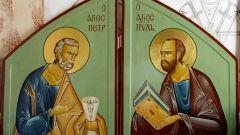Как православные отмечают день святых апостолов Петра и Павла