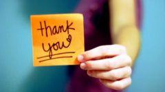 Как поблагодарить по-английски