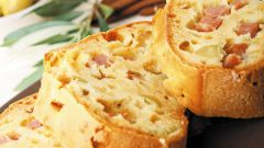 Как приготовить хлеб с ветчиной и луком