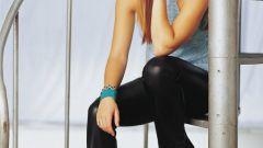С чем носить черные кожаные брюки девушке