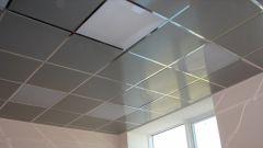 Как уменьшить высоту потолка