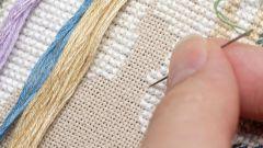 Как перенести рисунок для вышивки