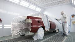 Как покрасить часть машины