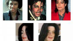 Какие изменения претерпела внешность Майкла Джексона
